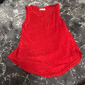 Red Madewell Tank Top